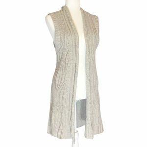 CAbi Long Sweater Vest Style #499, Size M